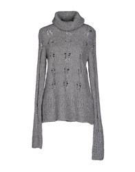 Crossley Knitwear Turtlenecks Women Grey