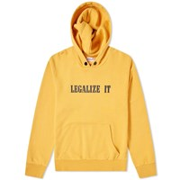 Palm Angels Legalize It Hoody Yellow