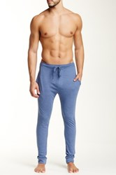 Bottoms Out Tapered Knit Jogger Blue