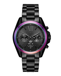Michael Michael Kors 40Mm Jet Set Chronograph Bracelet Watch Black