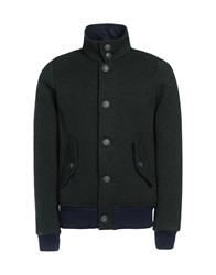 Edward Spiers Jackets Dark Green