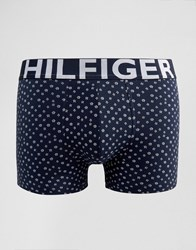 Tommy Hilfiger Icon Floral Trunks Navy
