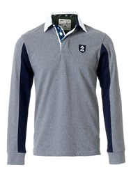 Eden Park Grey Color Rugby Polo Shirt