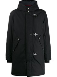 Fay Hooded Padded Parka Black