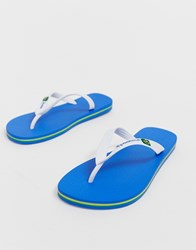 Ipanema Brazil 21 Flip Flop In White Blue