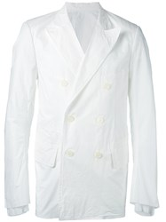 The Soloist Wardrobe Blazer Men Cotton M White