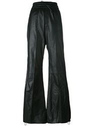 Off White Side Stripe Baggy Trousers Black