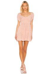 Auguste Clementine Bonne Mini Dress Pink