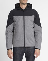 Element Anthracite Black And Grey Waterproof Black Sky Fishmouth Jacket