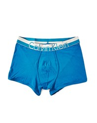Calvin Klein Underwear Magnetic Cotton Trunk Blue