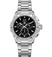 Tag Heuer Cay1110.Ba0925 Aquaracer Stainless Steel Watch Black