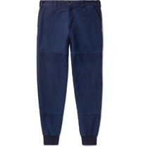 Blue Blue Japan Tapered Indigo Dyed Cotton Twill Trousers
