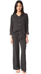 Eberjey Victoria Slouchy Long Pj Set Wish