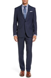 Ted Baker Men's London Jay Trim Fit Solid Wool Suit