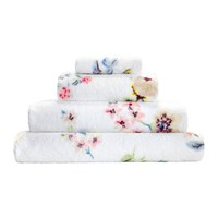 Cath Kidston Scattered Pressed Flowers Towel Neutral