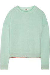 Issa Rudi Cashmere Blend Sweater Green