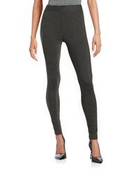 Vince Camuto Stretch Leggings Dark Heather Grey