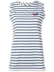 Etre Cecile Striped Tank White