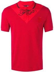 Fred Perry Raf Simons X Embroidered Logo Polo Shirt