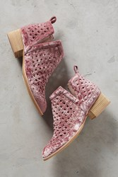 Anthropologie Jeffrey Campbell Taggart Booties Pink