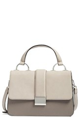 Chelsea 28 Chelsea28 Blake Faux Leather Satchel Grey Grey Flint