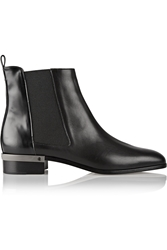 Reed Krakoff Polished Leather Chelsea Boots
