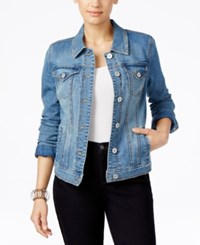 Styleandco. Style Co. Stretch Denim Jacket In Disco Wash Only At Macy's