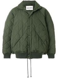 Henrik Vibskov Therefore Thermo Jacket Green