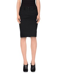 Roberta Scarpa Skirts Knee Length Skirts Women Dark Blue