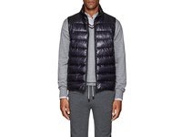 Herno Down Quilted Vest Navy