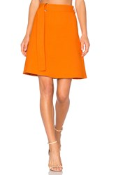 Egrey Mini Skirt Orange