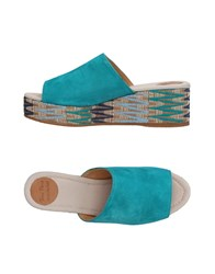 Toni Pons Footwear Sandals Turquoise