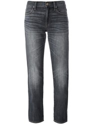 Polo Ralph Lauren 'Astor' Slim Boyfriend Jeans Grey