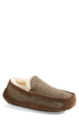 Men's Ugg Australia 'Ascot' Tweed Slipper