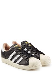 Adidas Originals Superstar 80S Sneakers In Leather