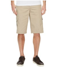 Dickies 13 Relaxed Fit Mechanical Stretch Cargo Shorts Desert Sand Beige