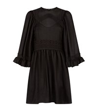 Mcq By Alexander Mcqueen Broderie Anglaise Dress Female Black