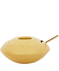 Tom Dixon Spun Brass Form Sugar Dish And Spoon Home Decor By Tom Dixon Liberty.Co.Uk