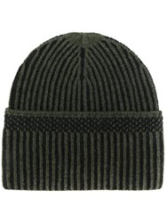 Diesel Ribbed Beanie Green