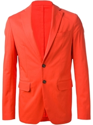 Dsquared2 Fitted Blazer Yellow And Orange