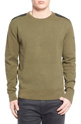 Men's Victorinox Swiss Army 'Constable' Crewneck Sweater Od Green