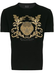 Billionaire Lion T Shirt Black