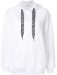 Proenza Schouler Hooded Sweatshirt White