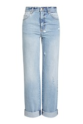 Alexander Mcqueen High Waisted Baggy Jeans
