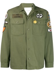 Deus Ex Machina Military Shirt Jacket Green