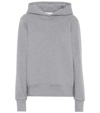 The Row Wren Cotton Hoodie Grey