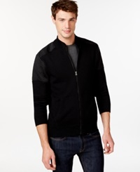 American Rag Quilted Colorblocked Zip Front Jacket Only At Macy's