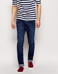 Bellfield Washed Indigo Stretch Skinny Jeans