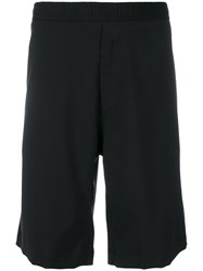 Our Legacy Knee Length Fitted Shorts Black