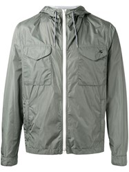 Fay Hooded Anorak Jacket Green